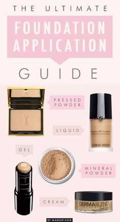foundation tips and tricks