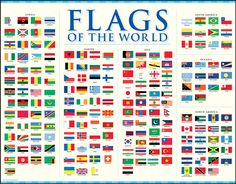 Country Flags  Flags Around Our Planet  Pinterest  Flags and