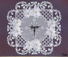 Pour celles qui veulent se lancer dans une création originale: une horloge en dentelle de papier par exemple ! http://www.avecpassion.fr/13605-aiguille-horloge-creation-pendule-AIGUILLE14001518.html