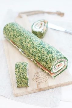 Lachs-Spinat Rolle