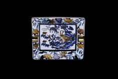Chinese Canton Vintage Ashtray