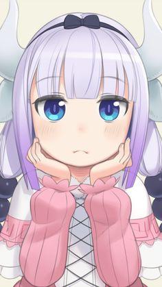 Kanna KamuiPinned from Uploade Anime Girl Neko, Anime Art Girl, Kawaii Anime, Anime Eyes, Anime Manga, Chino Anime, Aho Girl, Chibi, Otaku