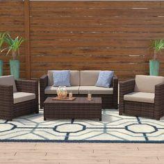 Mercury Row® Lindenberg Sun Lounger Set & Reviews | Wayfair Outdoor Furniture Sets, Furniture, Rattan Sofa, Outdoor Living, Home Decor, Sofa Set, Outdoor Sofa, Bedroom Decor, Outdoor Living Furniture