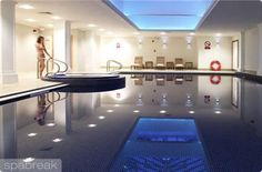Savill Court Hotel & Spa, Surrey - At the Savill Court Hotel & Spa, they believe in offering excellence and the Savill Spa is no exception. Featuring 3 tennis courts, a stunning 16 metre pool enhances with Jacuzzi, steam room and drench shower and sauna, creating a haven of calm and tranquility.