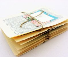 Escort cards place cards 80 vintage book pages by SepiaSmiles