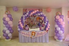 Sofia the First Birthday Party Ideas | Photo 13 of 19 | Catch My Party
