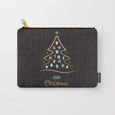 Merry Christmas 2017 Carry-All Pouch