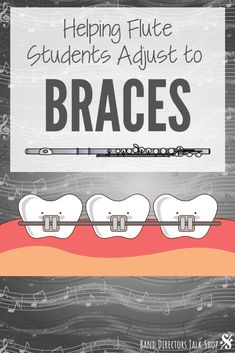 Playing flute with braces can be a pretty traumatic experience for many students. Here are some great tips to help your flute students adjust to braces and regain their tone in no time! Education Middle School, Middle School Music, Music Lesson Plans, Music Lessons, Band Problems, Flute Problems, Music Theory Games, Elementary Music, Upper Elementary