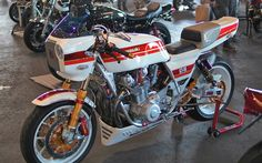 United colors of Kawasaki | Inazuma café racer