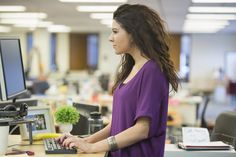 A new study finds that standing, rather than sitting, at a desk may not improve health.