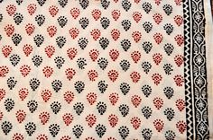 Gorgeous block print fabric Indian block print cotton by the yard by VedahDesigns on Etsy