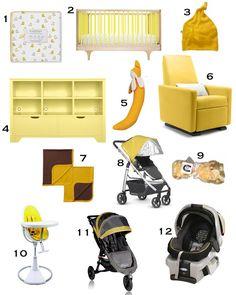 Bright yellow nursery idea with the Grano Glider Recliner! Nursery Ideas, Room Ideas, Decor Ideas, Modern Nursery Furniture, Glider Recliner, Yellow Nursery, Design Boards, Nursery Design, Bright Yellow