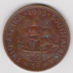 Penny - 1955 1D Red toning for sale in Malelane (ID:284115070)