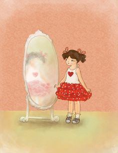 Custom Illustration by Reani on Etsy via Etsy!     Aline for illustrations