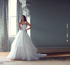 ruffles wedding dress | CHECK OUT MORE IDEAS AT WEDDINGPINS.NET | #weddings #weddingdress #inspirational