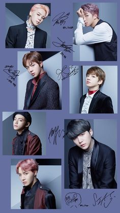 Because any official BTS fan page has to be signed by BTS themselves, right?<< I love Taehyung's signature 🦋 Bts Jimin, Bts Taehyung, Bts Bangtan Boy, Bts Lockscreen, Foto Bts, K Pop, Seokjin, Namjoon, Billboard Music Awards