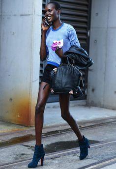 Tommy Ton Shoots Street Style in Sydney, Australia