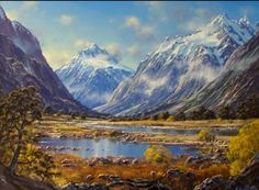 new zealand New Zealand Mountains, Painting Inspiration, Scenery, Travel, Image, Random Pictures, Homework, Landscapes, Inspire