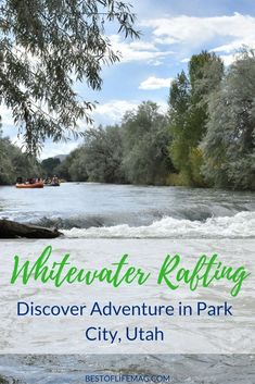 Discover New Adventures Whitewater Rafting in Park City Utah - The Best of Life® Magazine Hawaii Travel, Travel Usa, Travel Tips, Travel Hacks, Park City Utah Summer, Places To Travel, Places To See, Ski Park, Park City Mountain
