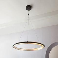 LED Hoop Chandelier #westelm