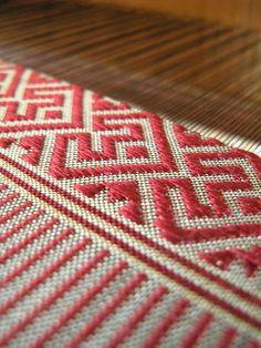 Laos silk pattern