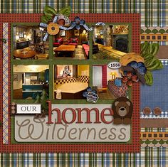 Wilderness Lodge layout... like the plaid