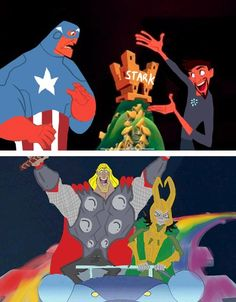 Tony Stark's New Groove- I would watch this.