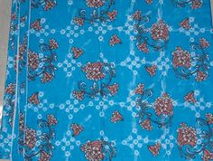 Kain Batik Katun Prima [1009-Biru-Muda]