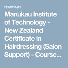 Manukau Institute of Technology - New Zealand Diploma in Engineering (Mechanical) - Courses & Fees - Popular Career options. Stay updated with latest news. Diploma In Engineering, Study In New Zealand, Nursing Courses, Career Options, New Technology, Hairdresser, Certificate, Salons, News