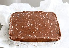 Tasty Kitchen Blog: Chocolate Nutella Sea Salt Fudge. Guest post by Maria Lichty of Two Peas and Their Pod, recipe submitted by TK member Dara Michalski of Cookin' Canuck.