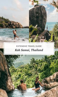 Traveling to Koh Samui island in Thailand This travel guide has everything you need to know including things to do what to see most beautiful beaches lots of pictures where to eat the best food and Thailand Travel Guide, Bangkok Travel, Nightlife Travel, Asia Travel, Croatia Travel, Hawaii Travel, Italy Travel, Phuket, Koh Samui Thailand