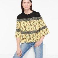 SS17-spring-summer-2017-fashion-blog-bogger-blogueuse-belge-trends-wallflower-flower-power-sandro-paris-french-brand-crop-top-print-imprimés-jaune-yellow-honeymoon