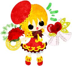母の日のフリーイラスト素材可愛い女の子とカーネーション  Free Illustration of Mothers day A cute girl and carnations   http://ift.tt/2qowzdr