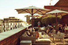 Terraza Hotel Omm Barcelona