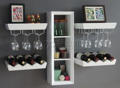 Trendy home bar station storage Dining Storage, Shelves, Home Projects, Wine Cabinets, Home Bar Designs, Home Decor, Bars For Home, Home Bar Decor, Trendy Home