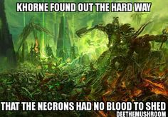 Necrons hate Chaos probably even more than the Eldar and Mankind combined -DeeTheMushroom