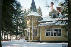Zelenogorsk near St. Petersburg dacha of  Faberge, Dacha not preserved.