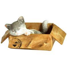 Lovely Messenger Kitten - Fairy Animals - FAIRY GARDENS - GIFTS
