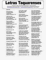 ..CAMINHO DAS LETRAS BLOG..: LETRAS TAQUARENSES Nº 56 Maio 2014 * Editor: Anton...