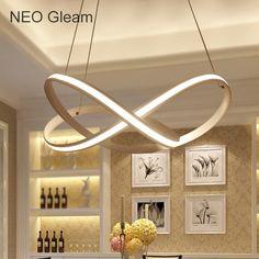 Pas cher Moderne LED plafonniers bois Acrylique Nordique accueil