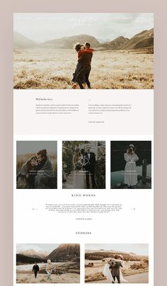 Beauty, elegance & a mesmerizing structure on Charlotte Sowman's new wedding photography website built with our Cube Theme! www.charlottesowmanphotography.com Browse her site for a better overview and shop for your own Cube theme (or any other theme). #floclients #flothemes #wordpress
