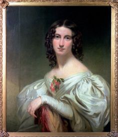 Portrait of Jane Williams, last muse of Shelley, whose husband drowned with him in the Ariel. Painted after her return to England the same year, in Fair Day, Romantic Period, Mary Shelley, Musa, Art Uk, Old Master, Your Paintings, Ladies Day, Celebrities