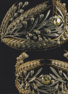 The Russian Field Diadem - made for Empress Maria Feodorovna, wife of Paul I