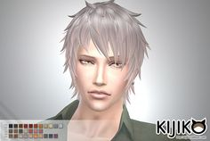 Kijiko Sims: Shaggy Short hairstyle for him - Sims 4 Hairs - http://sims4hairs.com/kijiko-sims-shaggy-short-hairstyle-for-him/