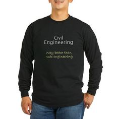 9e292deb4ee Civil engineering generic Long Sleeve T-Shirt Funny Humor