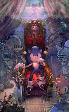 Sonic and the Black Knight by aoki6311 on deviantART
