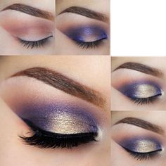 If you would like transform your eyes and also improve your appearance, finding the very best eye make-up tips can really help. You'll want to make sure you wear make-up that makes you start looking even more beautiful than you are already. Gorgeous Makeup, Pretty Makeup, Love Makeup, Glamorous Makeup, Cheap Makeup, Magical Makeup, Simple Makeup, Amazing Makeup, Navy Eye Makeup