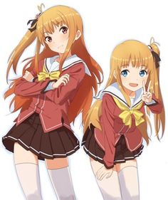 charlotte anime yusa and misa ~K