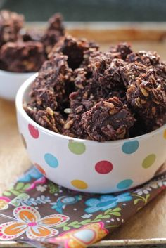 Dark chocolate sunflower seed clusters