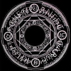 Nanoha magic circle by OvermanXAN on deviantART